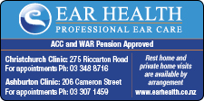 Ear Health Canterbury